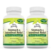 Terry Naturally Advanced DGL (2 Pack) - 75 mg Licorice, 3.5% Glabridin - 60 Vegan Capsules - Soothing Stomach & Intestinal Support Supplement - Non-GMO, Gluten-Free - 60 Servings