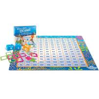 Learning Resources Make a Splash 120 Mat Floor Game, Addition/Subtraction, 136 Pieces, Ages 6+