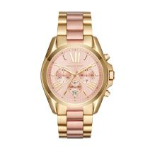Michael Kors Bradshaw Stainless Steel 43MM Chronograph Watch