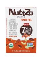 NuttZo Smooth Organic Power Fuel 2go Squeeze Packs, 6.7 Ounce (pack of 10 - .67oz packets)