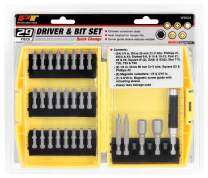 Performance Tool - 29pc Quick Change Screw & Driver (W9024) Power Tool Accessories