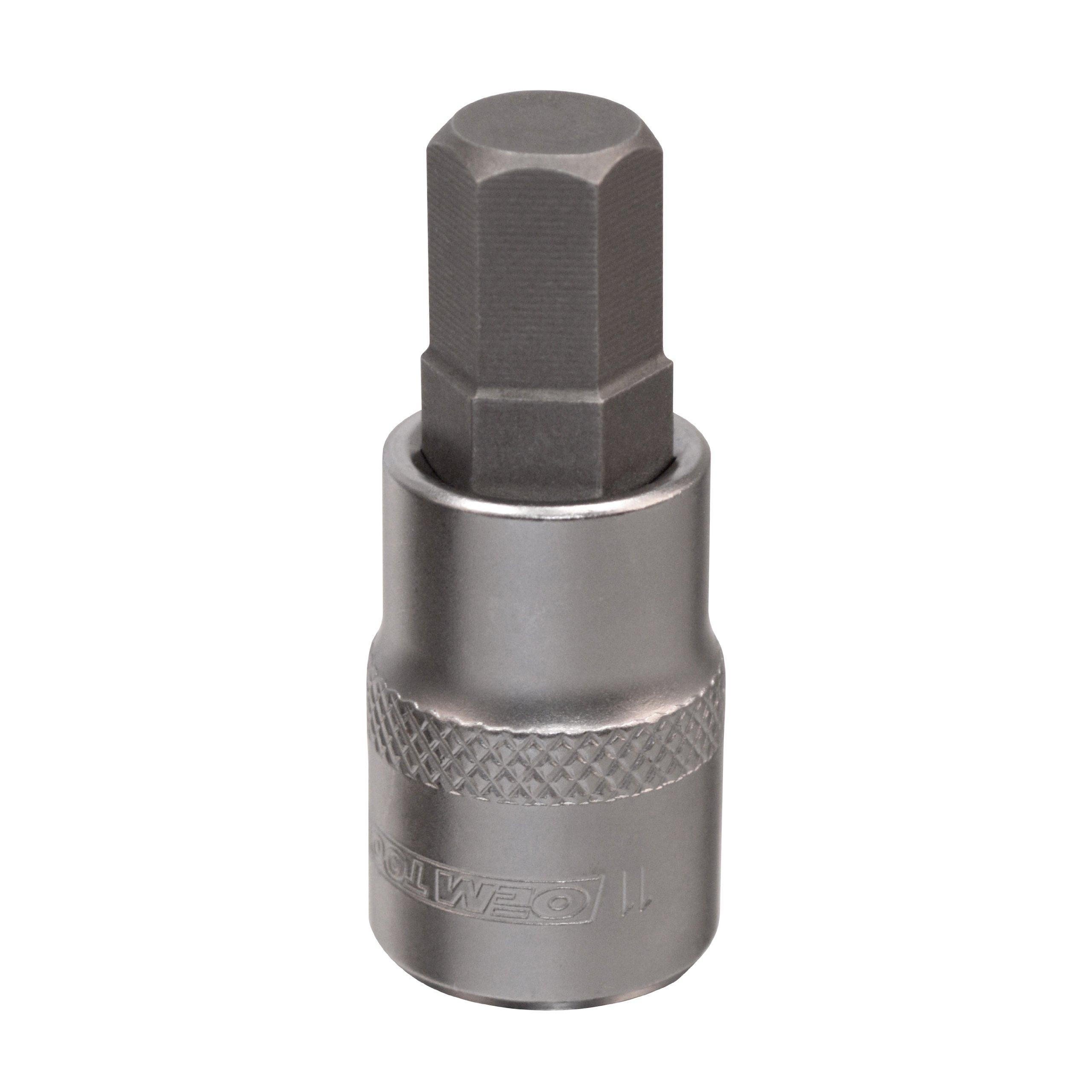 OEMTOOLS 22835 11mm Metric Drive Hex Bit Socket