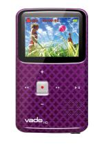 VADO VF0624 Camcorder with 2x Optical Zoom and 2-inch LCD Screen - PURPLE (Discontinued by Manufacturer)