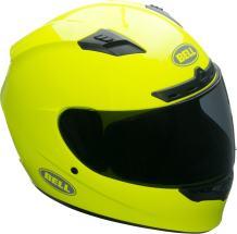 Bell Qualifier DLX Full-Face Motorcycle Helmet (Gloss Hi-Viz Yellow, Medium)