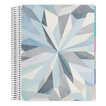 Erin Condren 12 - Month 2020 Deluxe Monthly Planner 8.5x11 (January - December 2020) - Kaleidoscope Neutral (Colorful Layout). Organizer with Month View Tabs