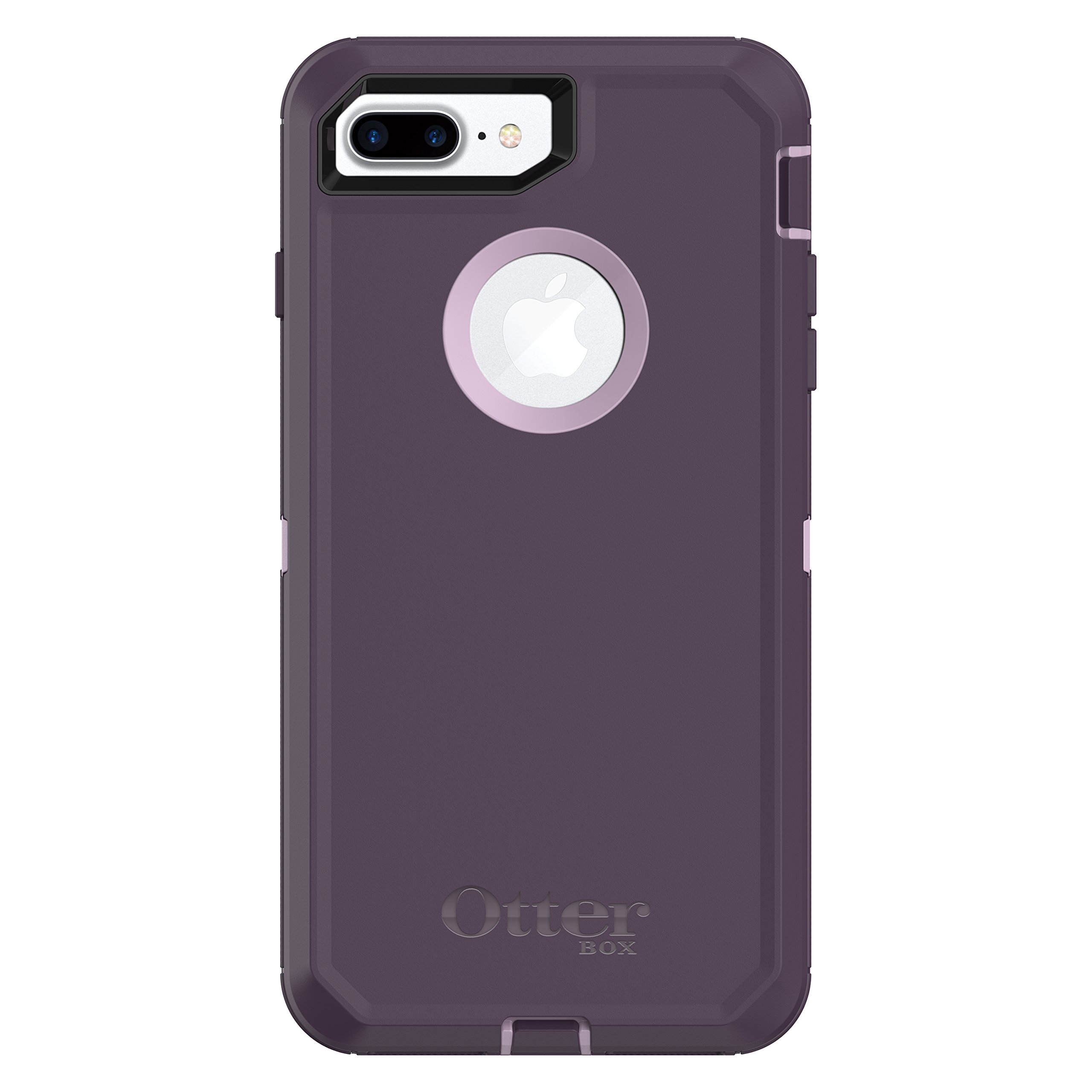 Otterbox Defender Series Case for  Iphone 8 Plus & Iphone 7 Plus  - Retail Packaging - Purple Nebula (Winsome Orchid/Night Purple)