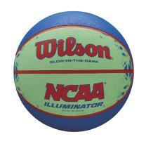 """Wilson NCAA Illuminator Glow in The Dark Basketball, 28.5"""" Blue/Yellow"""