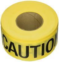 C.H. Hanson 16001 Yellow Caution/Wet Paint Barricade Tape, 2 mil, 1000 ft