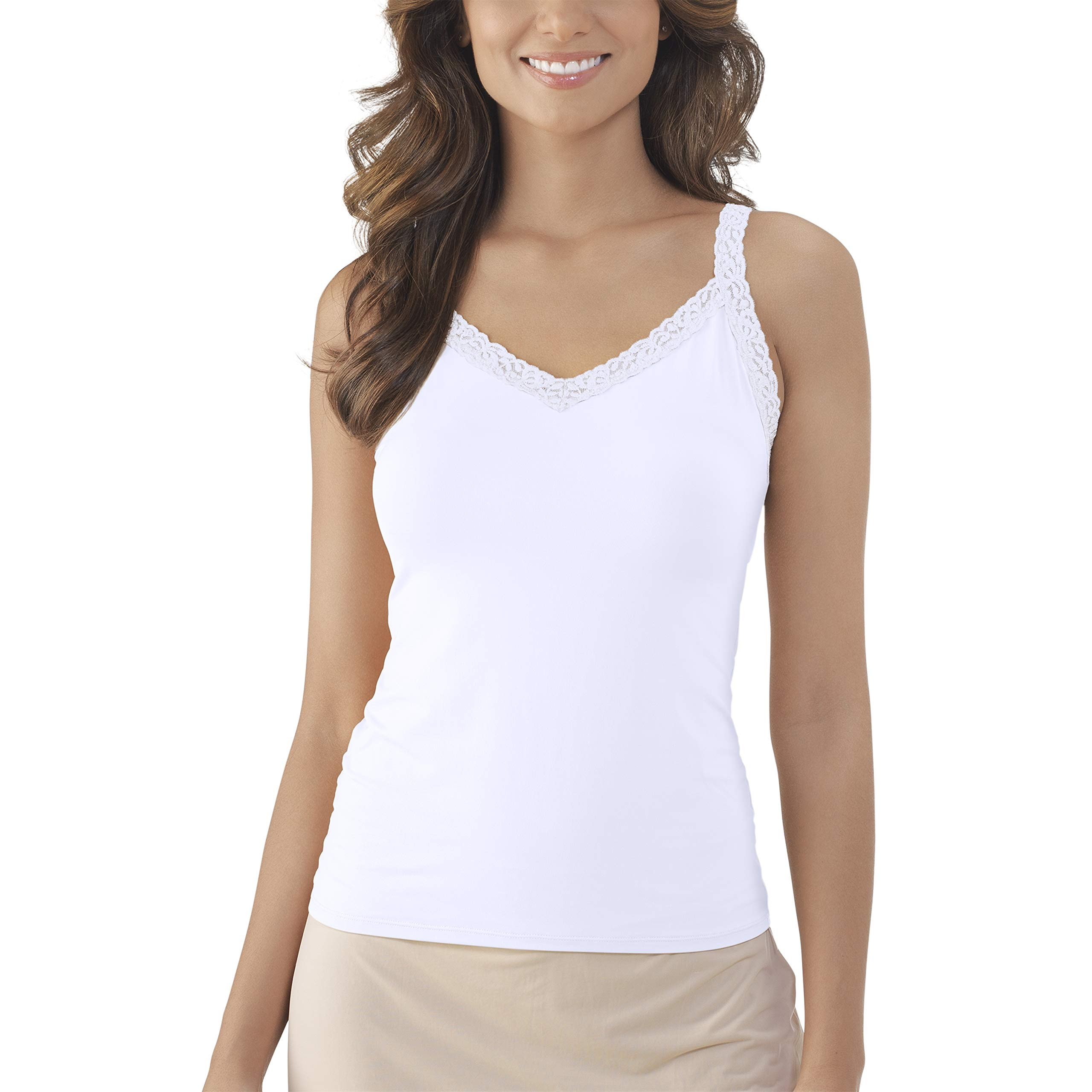 Vanity Fair Women's Tops for Layering (Camisole & Tank Tops)