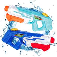 idoot Water Guns for Kids,2 Pack Super Squirt Guns for Boys Girls Adults, 970CC Water Pistol for Summer Swimming Pool Beach Sand Outdoor Water Fighting Play Toys