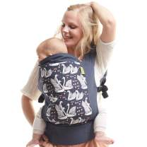 Boba Baby Carrier Classic 4Gs - Pour La Vie - Backpack or Front Pack Baby Sling for 7 lb Infants and Toddlers up to 45 pounds