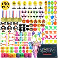 ZNCMRR 150PCS Carnival Prizes Combination, Kids Birthday Party Favors Prizes Box, School Classroom Rewards, Pinata Fillers, Toy Assortment Classroom