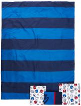 """Carter's 4-Piece Toddler Set, Blue/White/Red All Star, 52"""" x 28"""""""