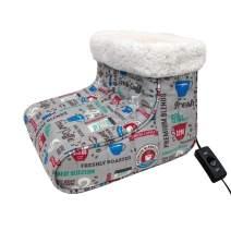 Thermee Micro Flannel Heated Foot Warmer, Fresh Coffee