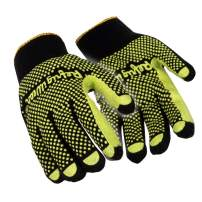 RefrigiWear Brushed Acrylic Double-Sided Double Dot Gripping Gloves - PACK OF 12 PAIRS