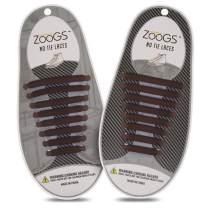 Zoogs Silicone No Tie Shoelaces; Sporty Silicone Shoelaces