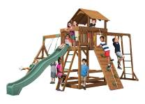 Creative Playthings (Playtime Series Swing Set Made in The USA) Spring Hill with Monkey Bars