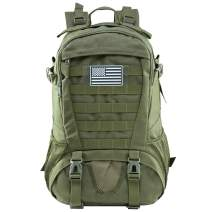 Jueachy Tactical Backpack for Men Molle Military Rucksack Pack Waterproof Daypack 30L