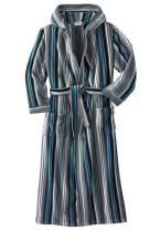 KingSize Men's Big & Tall Tall Terry Velour Hooded Maxi Robe