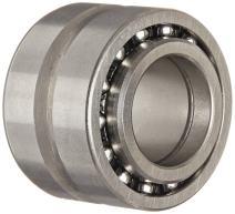 SKF NKIB 5906 Radial and Thrust Bearing, Needle Radial, Ball Thrust, Split Inner Race, Metric, 30mm Bore, 25mm Width, 47mm Radial OD, 47mm Thrust OD