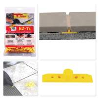 """T-BABYS - EZ-Ts DIY Leave-in Tile Leveling Grout Spacers 1/4"""" - 100ct"""