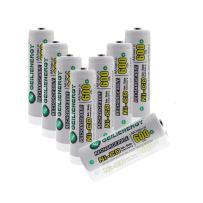 GEILIENERGY Solar Light Batteries NiCd AA 600mAh 1.2V Rechargeable Batteries for Solar Lamp Garden Light(Pack of 8)