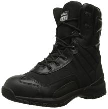 """Original S.W.A.T. Men's H.A.W.K. 9"""" Side Zip EN Black Military & Tactical Boot"""