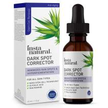 Dark Spot Corrector & Remover - Brightening Serum for Face & Body Made With Glycolic Acid & Niacinamide - Improve Skin Discoloration, Hyperpigmentation, Scars, Acne, Tone, Sun & Age Spot Repair - 1 oz