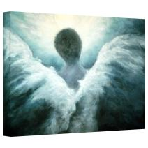 Art Wall Ascending Angel Gallery Wrapped Canvas Art by Marina Petro, 16 by 24-Inch