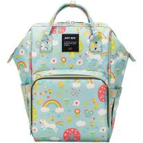 willikiva Mommy Backpack Diaper Bag Baby Nappy Changing Bag Large Multifunction