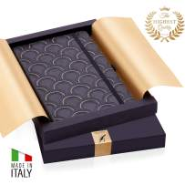 Exclusive 2020 Weekly & Monthly Planner - Made in Italy with Luxurious Hardcover- Increase Your Productivity & Achieve Goals - Weekly Diary with Notes, Pen Holder and Inner Pocket