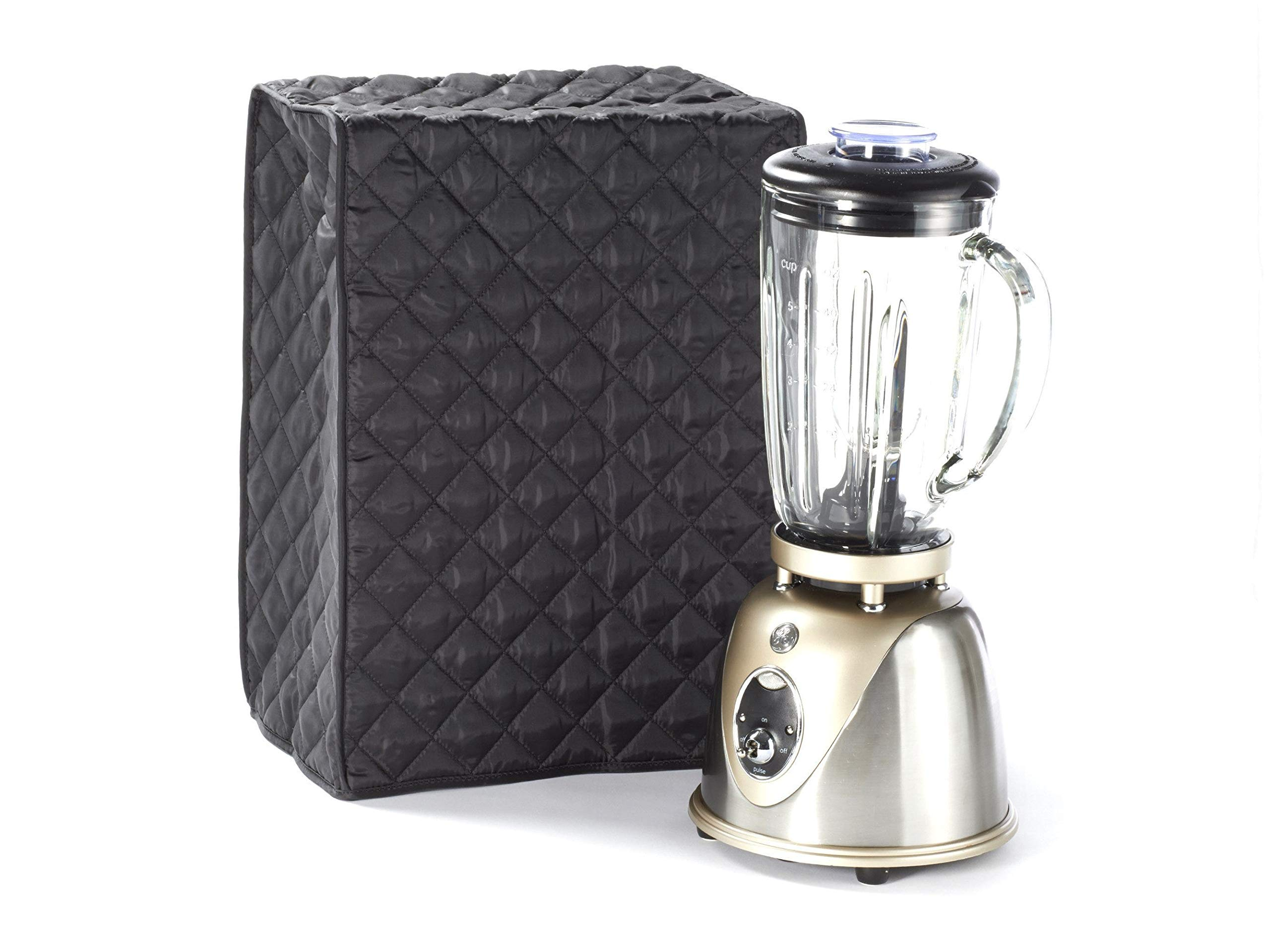 Covermates Keepsakes - Blender Cover – Dust Protection - Stain Resistant - Washable – Appliance Cover - Black
