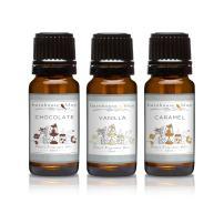 Trio (3) - Barnhouse Blue - Vanilla, Chocolate & Caramel - Premium Fragrance Oil Trio - 10ml