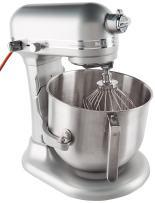 KitchenAid KSM8990NP 8-Quart Commercial Countertop Mixer, 10-Speed, Gear-Driven, Nickel Pearl