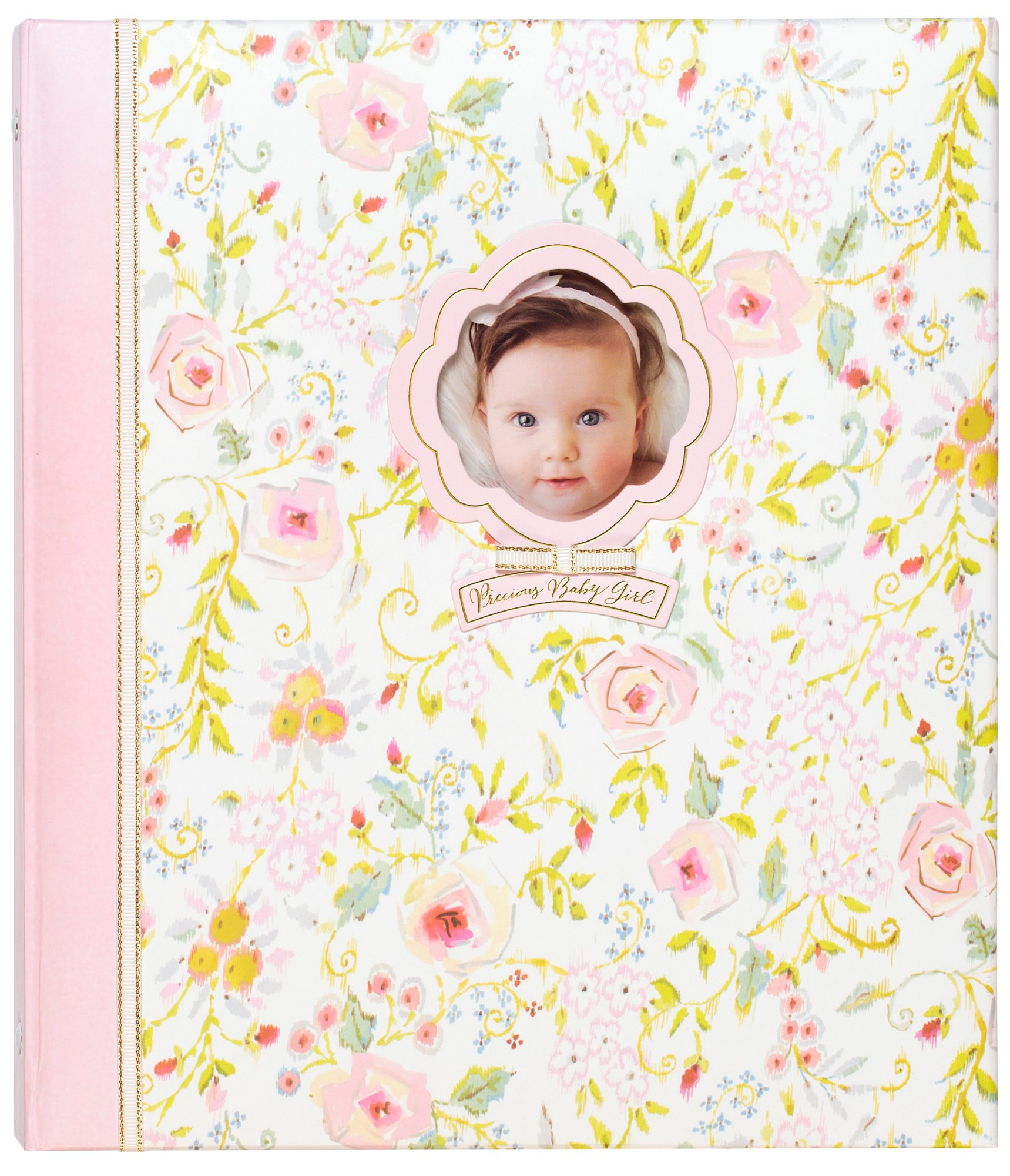 "C.R. Gibson Sweet as Can Be Loose Leaf 3-Ring Memory Book for Newborns and Babies, 10.125"" x 11.5"""