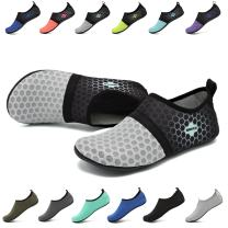 EASTSURE Snorkeling Shoes Water Sport Shoes Aqua Socks for Men Women Beach Swim Surf Yoga