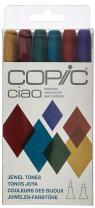 Copic Marker Montana Ciao Marker Set, Jewel Tones (052053), 6 Count
