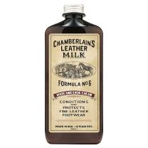 Leather Milk Leather Boot & Shoe Conditioner and Cleaner - No. 6 - All-Natural, Non-Toxic Shoe Care Cream Made in The USA. 2 Sizes. Includes Polishing Applicator Pad!