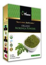 mi nature USDA Certified Organic Moringa Leaf Powder, Moringa Oleifera Powder (100% Natural, ORGANICALLY Grown) (227g/(1/2 lb) Non-GMO, Guaranteed Purest, 100% Raw Moringa