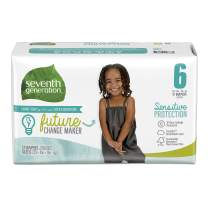 Seventh Generation Baby Diapers, Sensitive Protection, Size 6, 17 count