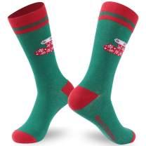 Ristake Christmas Novelty Socks, Family Crew Socks for Adults/Kids, 1/2 Pack