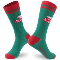Ristake Christmas Novelty Socks, Family Crew Socks for Adults/Kids, 1/2 Pack