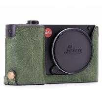 MegaGear Ever Ready Genuine Leather Camera Half Case Compatible with Leica TL2, TL