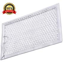 Ultra Durable 5304464105 Filter Aluminum Mesh Microwave Grease Filt 5 x 7-5/8 x 3/32 Inches Replacement Part by Blue Stars - Exact Fit for Frigidaire Microwaves - Replaces 5304478913 1381132 AP4322869