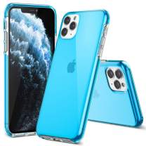 EFFENX iPhone 11 Pro Max Blue Case-Thin Slim Full-Body Stylish Clear Protective Case Anti-Scratch Shock Absorption Cover Case Designed for iPhone11 Pro Max 2019 6.5