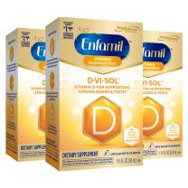 Enfamil D-Vi-Sol Vitamin D Supplement Drops 50 mL(Packs of 3)