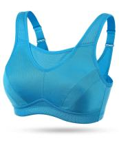 Wingslove Women's Full Coverage High Impact Wirefree Workout Non Padded Sports Bra Bounce Control