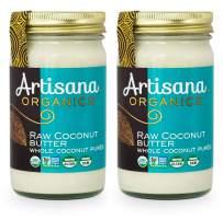 Artisana Organics Non GMO Raw Coconut Butter (2 Pack (14 oz))