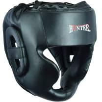 HUNTER Headguard for Professional Boxing, MMA Training Headgear, Kickboxing Head Gear, Mouth Protection-Headgear for Muay Thai, Grappling, Sparring, Kickboxing, Karate, Taekwondo, Martial Arts