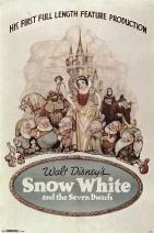 "Trends International 24x36 Snow White-One Sheet Premium Wall Poster, 22.375"" x 34"""